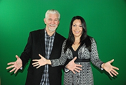 Photo of Jeff Herring and Maritza Parra