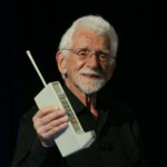 The first cellphone call was made 40 years ago.  I was the first to interview someone on the radio via cellphone.