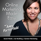 Best business podcasts: Amy Porterfield