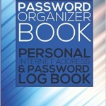 password organizer notebook